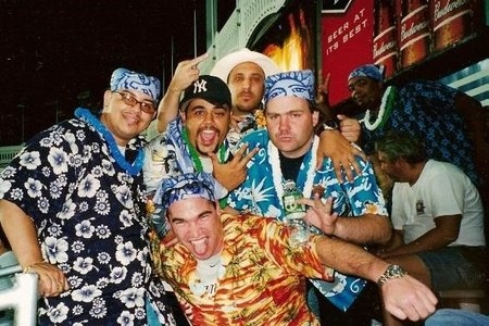 Scorecard Memory: First Hawaiian Shirt Night in the Bleachers