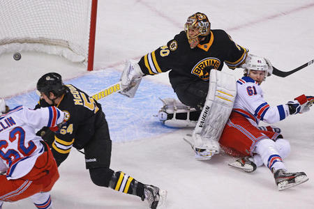 Preparation for Rangers-Bruins Postseason Battle