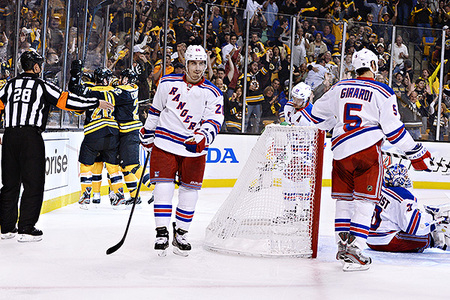 Rangers-Bruins Game 2 Thoughts: Two-Goal Lead Isn't Worst Lead in Hockey