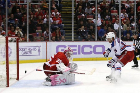 Rangers-Red Wings Isn't So Rare Anymore