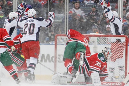 Rangers-Devils Stadium Series Thoughts: Mar-ty! Mar-ty! Mar-ty!