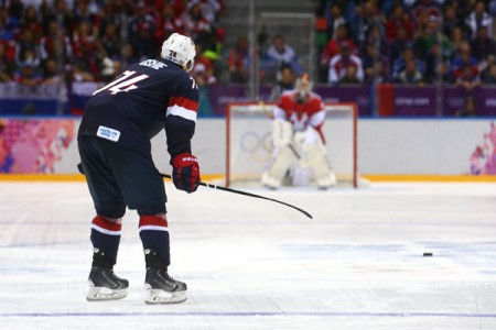 Team USA-Russia Thoughts: Do You Believe in T.J. Oshie?