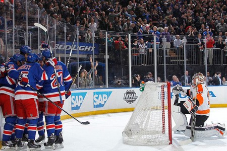 Rangers-Flyers Has 'The Feel'