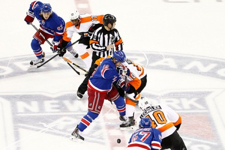 New York Rangers vs. Philadelphia Flyers