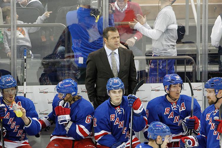 New York Rangers vs. Philadelphia Flyers