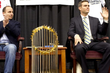 Brian Cashman and Theo Epstein