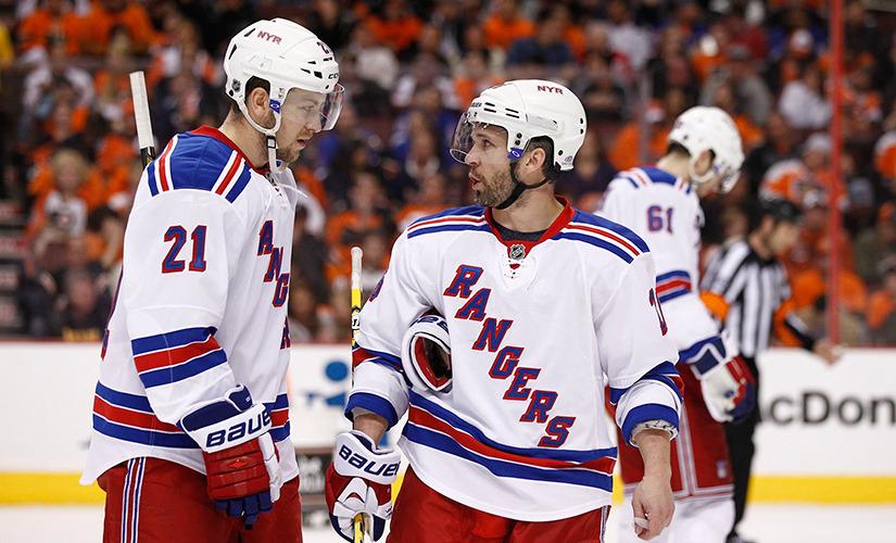 New York Rangers at Philadelphia Flyers