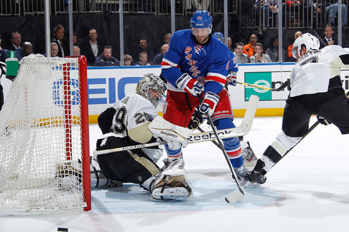 Rangers-Penguins Game 3 Thoughts: 120-Minute Shutout