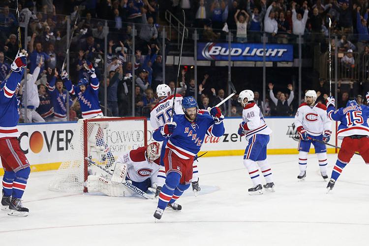 New York Rangers vs. Montreal Canadiens