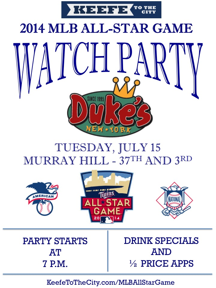 Duke's MLB All-Star Game Watch Party
