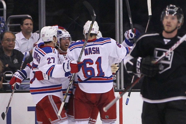 New York Rangers at Los Angeles Kings