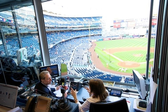 John Sterling and Suzyn Waldman