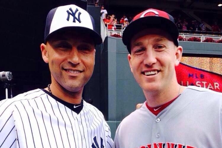 Derek Jeter and Todd Frazier
