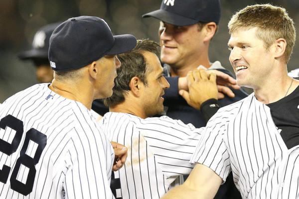 Rangers at Yankees