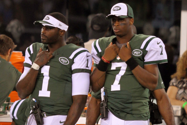 Michael Vick and Geno Smith
