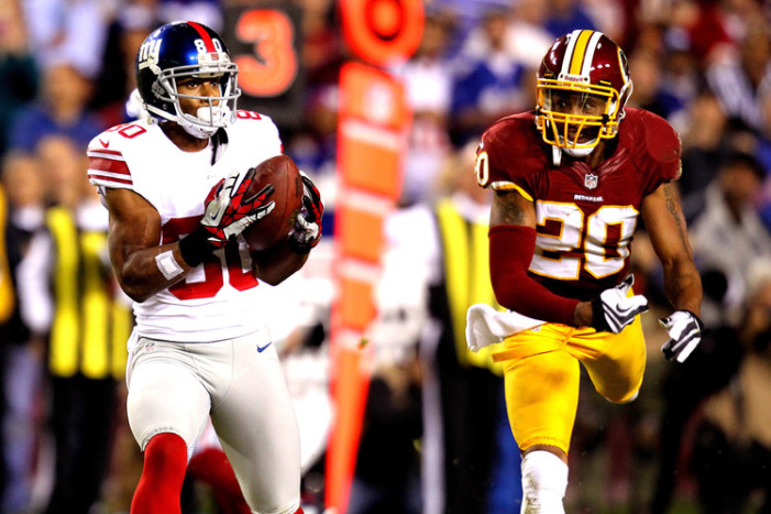 Turning Point for Giants and Redskins