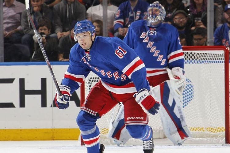 Rick Nash and Henrik Lundqvist
