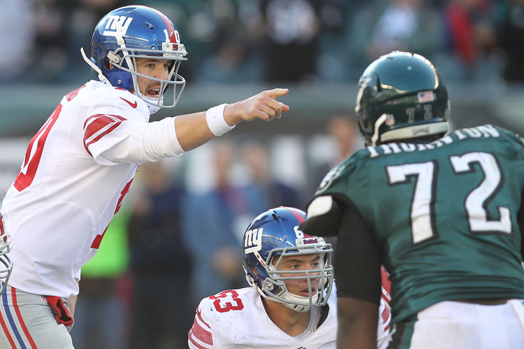 New York Giants at Phildaelphia Eagles