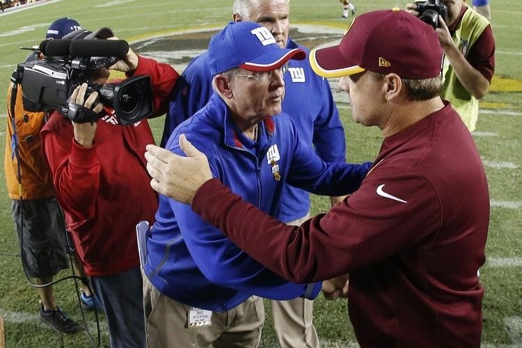 Tom Coughlin and Jay Gruden