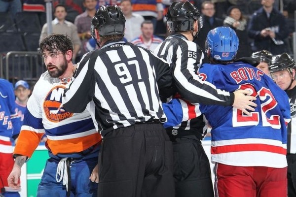 New York Rangers vs. New York Islanders