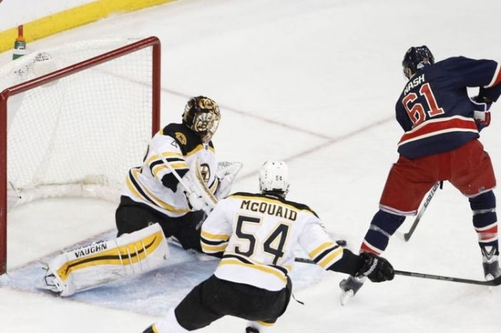 Rangers-Bruins Sets Up Rubber Match