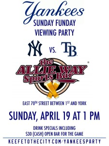 Yankees Sunday Funday