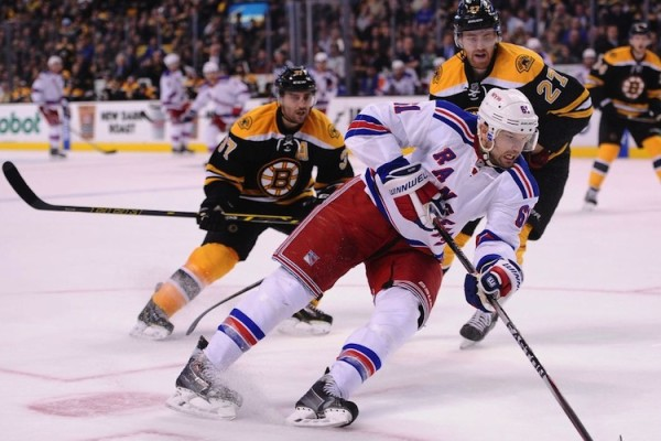 New York Rangers at Boston Bruins