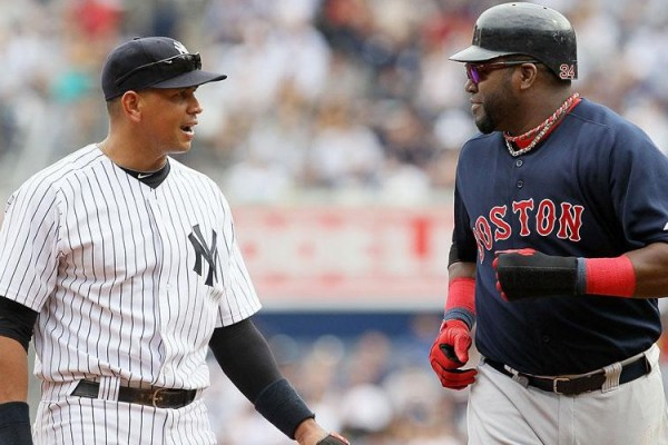 Alex Rodriguez and David Ortiz