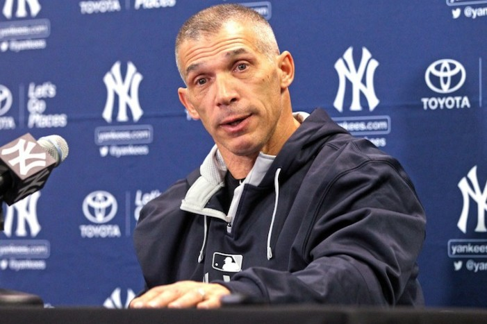 Joe Girardi Needs to Stop with the Days Off