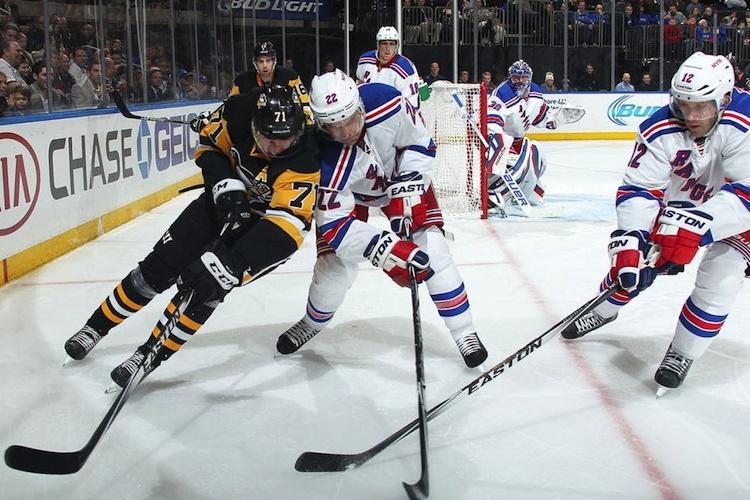 New York Rangers vs. Pittsburgh Penguins