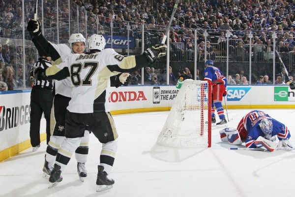 New York Rangers. vs Pittsburgh Penguins
