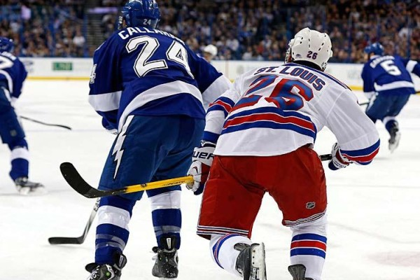 Ryan Callahan and Martin St. Louis