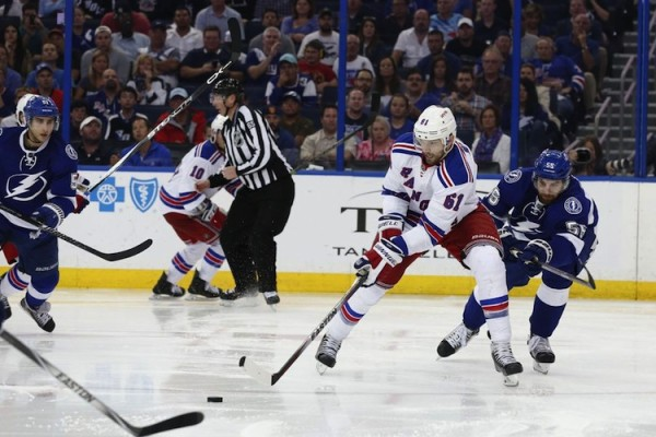New York Rangers vs. Tampa Bay Lightning