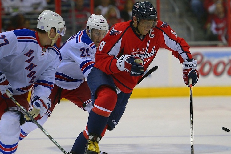 New York Rangers at Washington Capitals