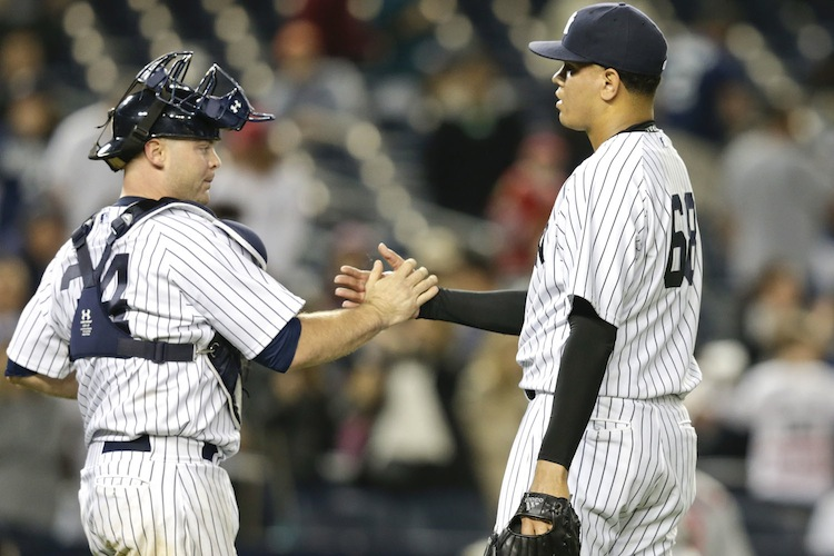 Brian McCann and Dellin Betances