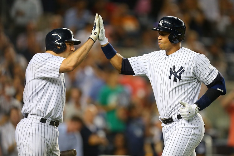 Mark Teixeira and Alex Rodriguez