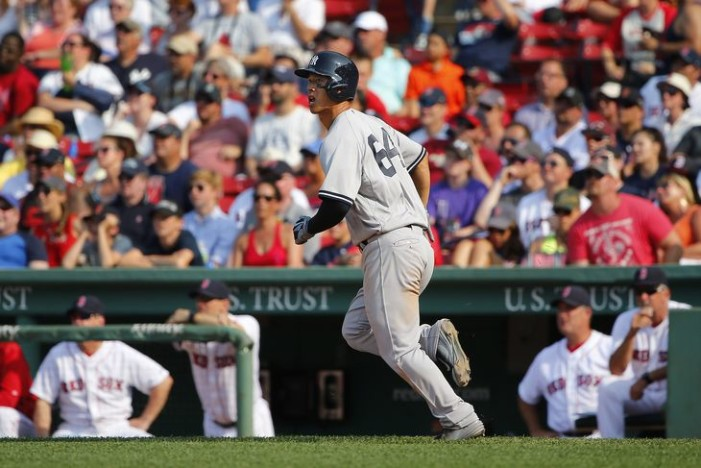 Yankees-Red Sox Weekend Diary
