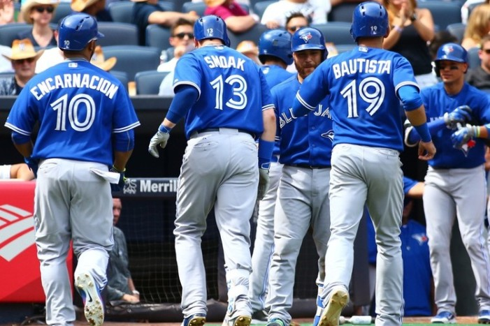 Yankees-Blue Jays Begin Seven-Week Battle