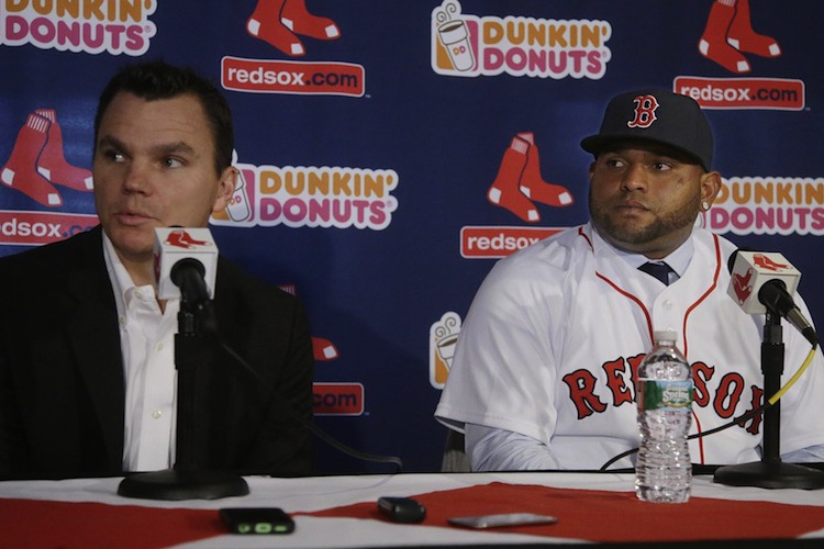 Ben Cherington and Pablo Sandoval