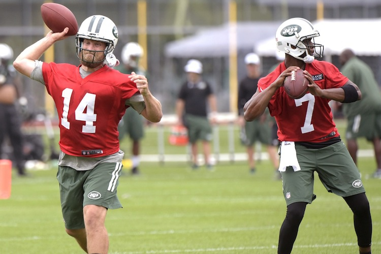 Ryan Fitzpatrick and Geno Smith