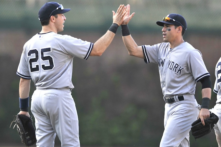 Mark Teixeira and Jacoby Ellsbury