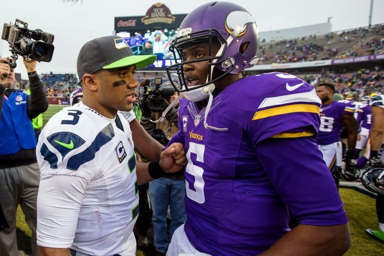 Russell Wilson and Teddy Bridgewater