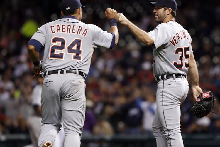 Miguel Cabrera and Justin Verlander
