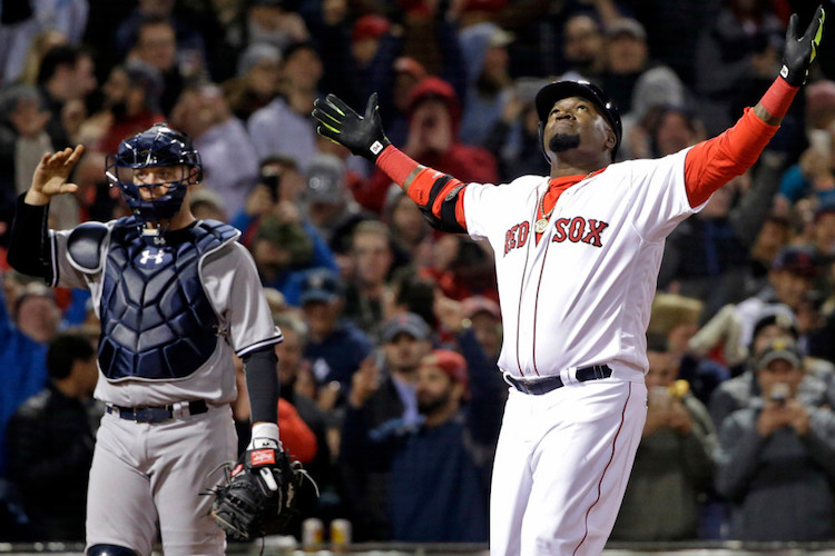 Brian McCann and David Ortiz