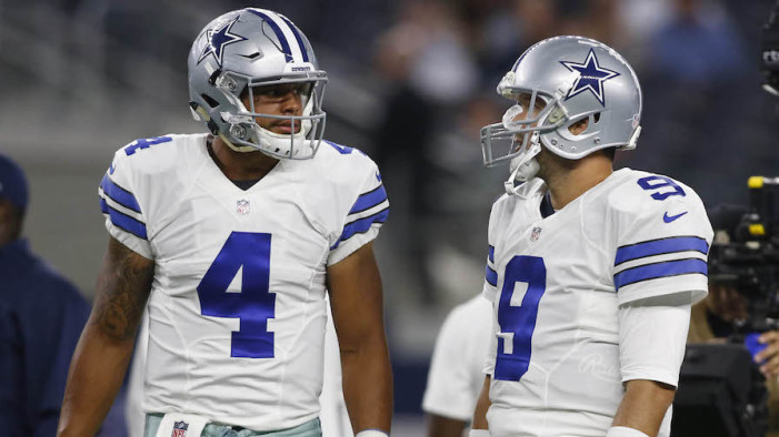 Giants Start Season Against Potential Cowboys Quarterback Controversy