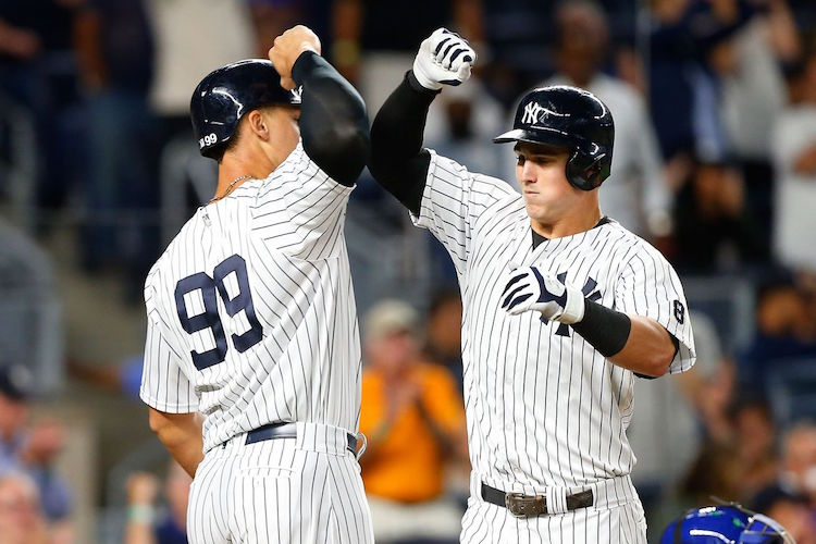 Aaron Judge and Tyler Austin