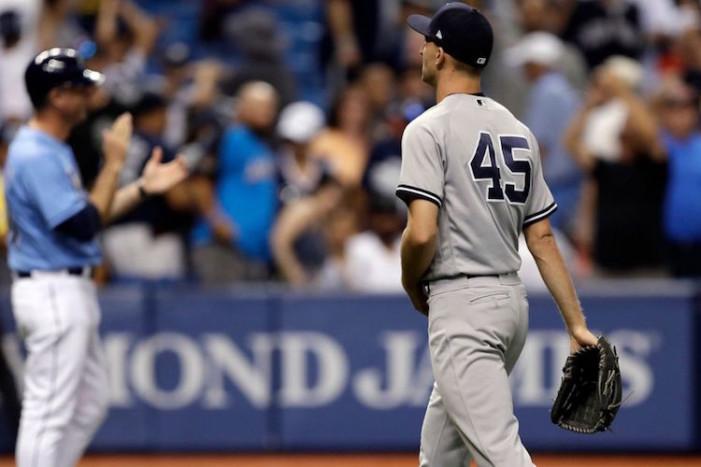 Yankees Embarrassing Weekend in Tampa Bay