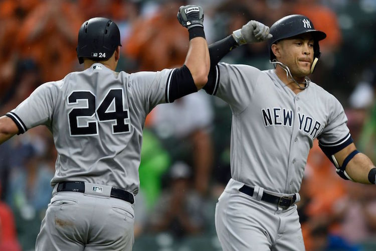 Gary Sanchez and Giancarlo Stanton