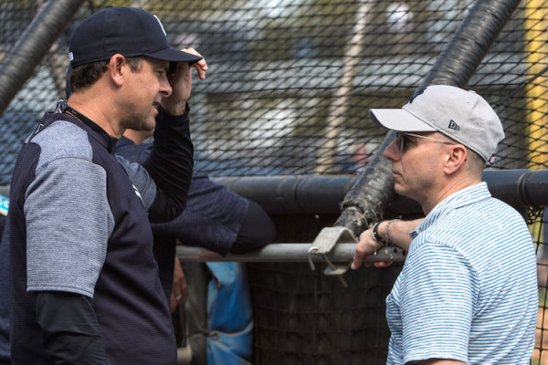 Aaron Boone and Brian Cashman