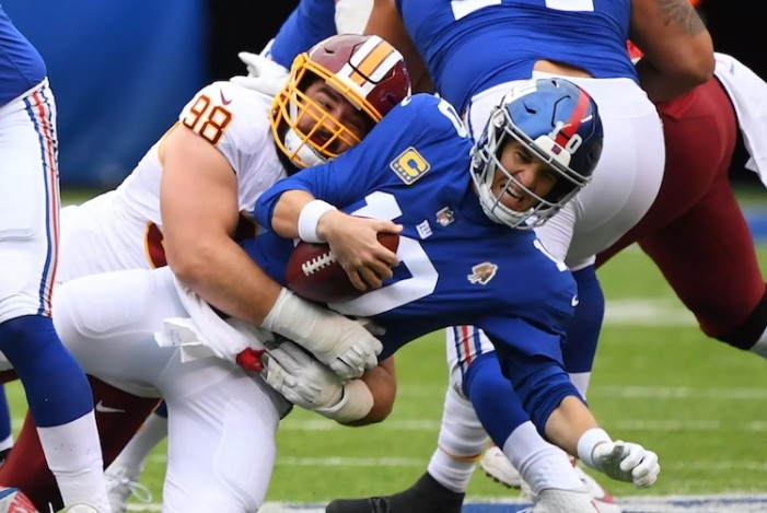 Giants-Redskins Week 8 Thoughts: Different Week, Same Game